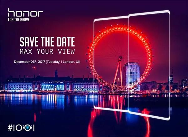honor v10 launch teaser