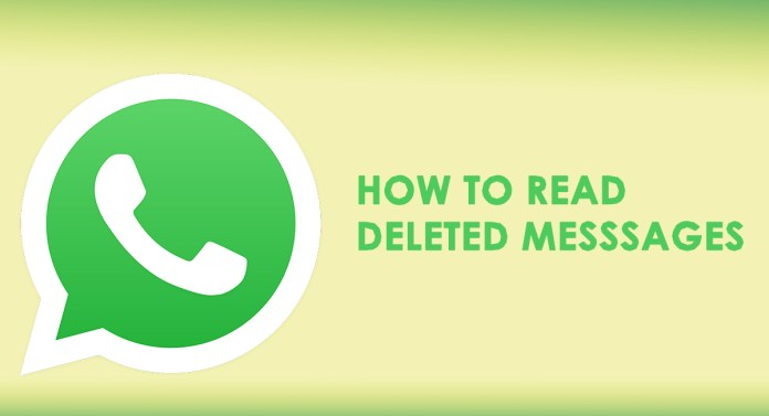 how to read deleted messages