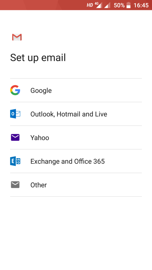Gmail Add Account Email Services