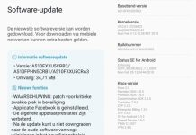 Samsung Galaxy A5 (2016) feb Security patch