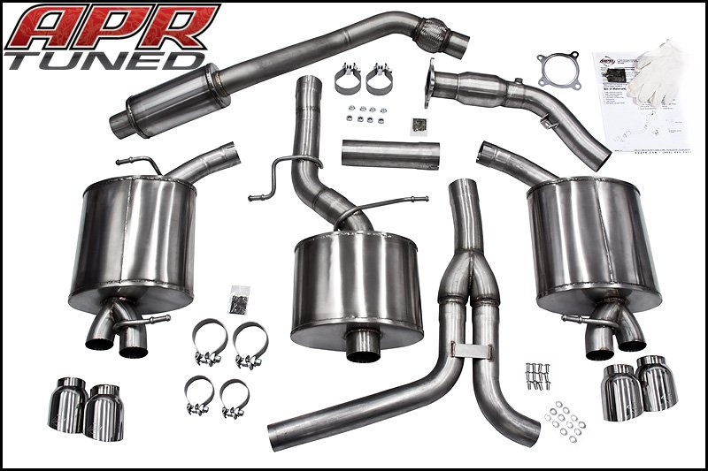 quattroworld.com Forums: APR Dual Exit Quad Tip Exhaust