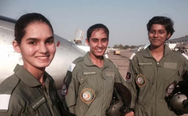 India's first women pilots