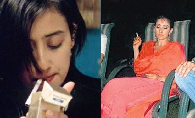 Manisha Koirala Smoking
