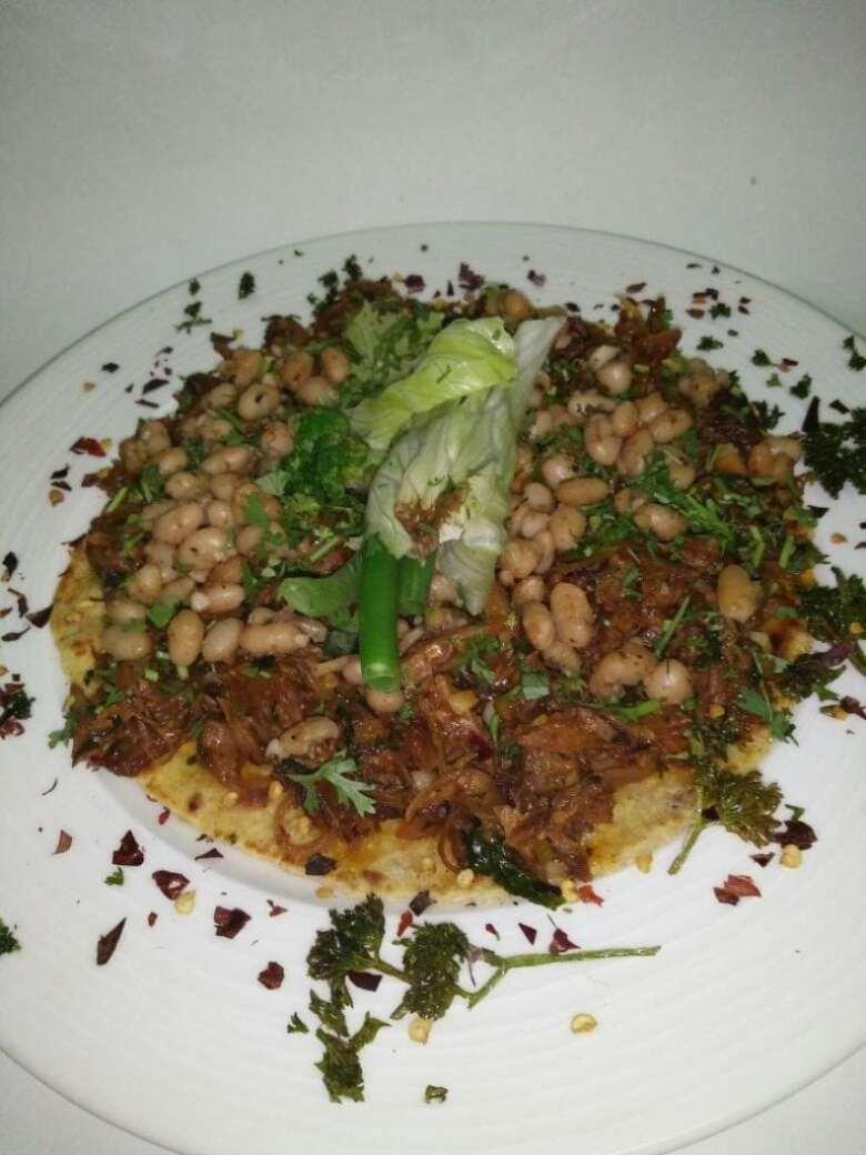 Mexican Dish Tostadas