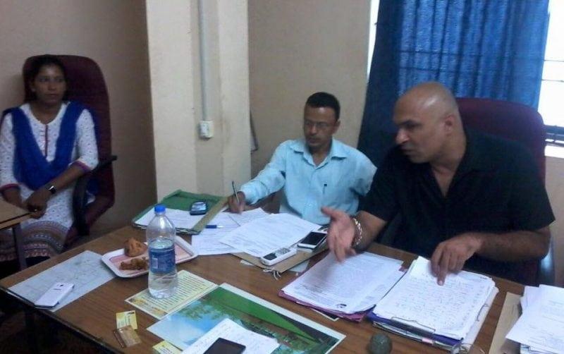 Sanquelim Municipal Chairperson Dharmesh Saglani