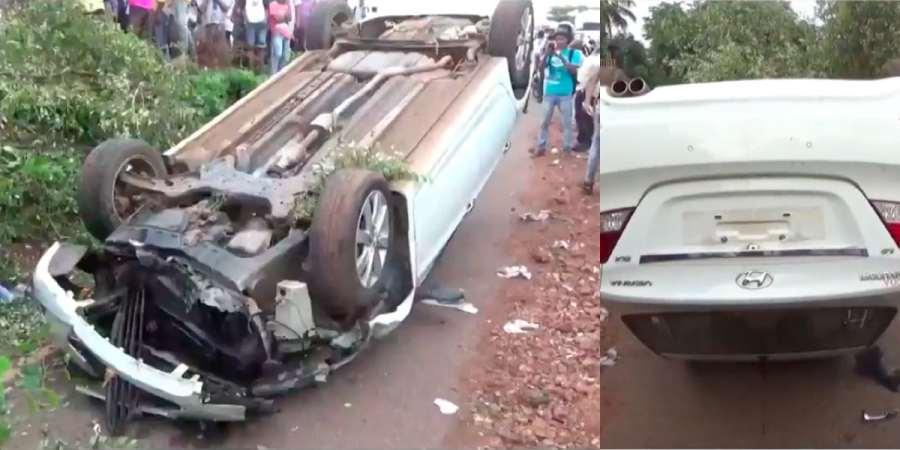 DEADLY ACCIDENT VASCO MES COLLEGE SPEEDING CAR RAMMED