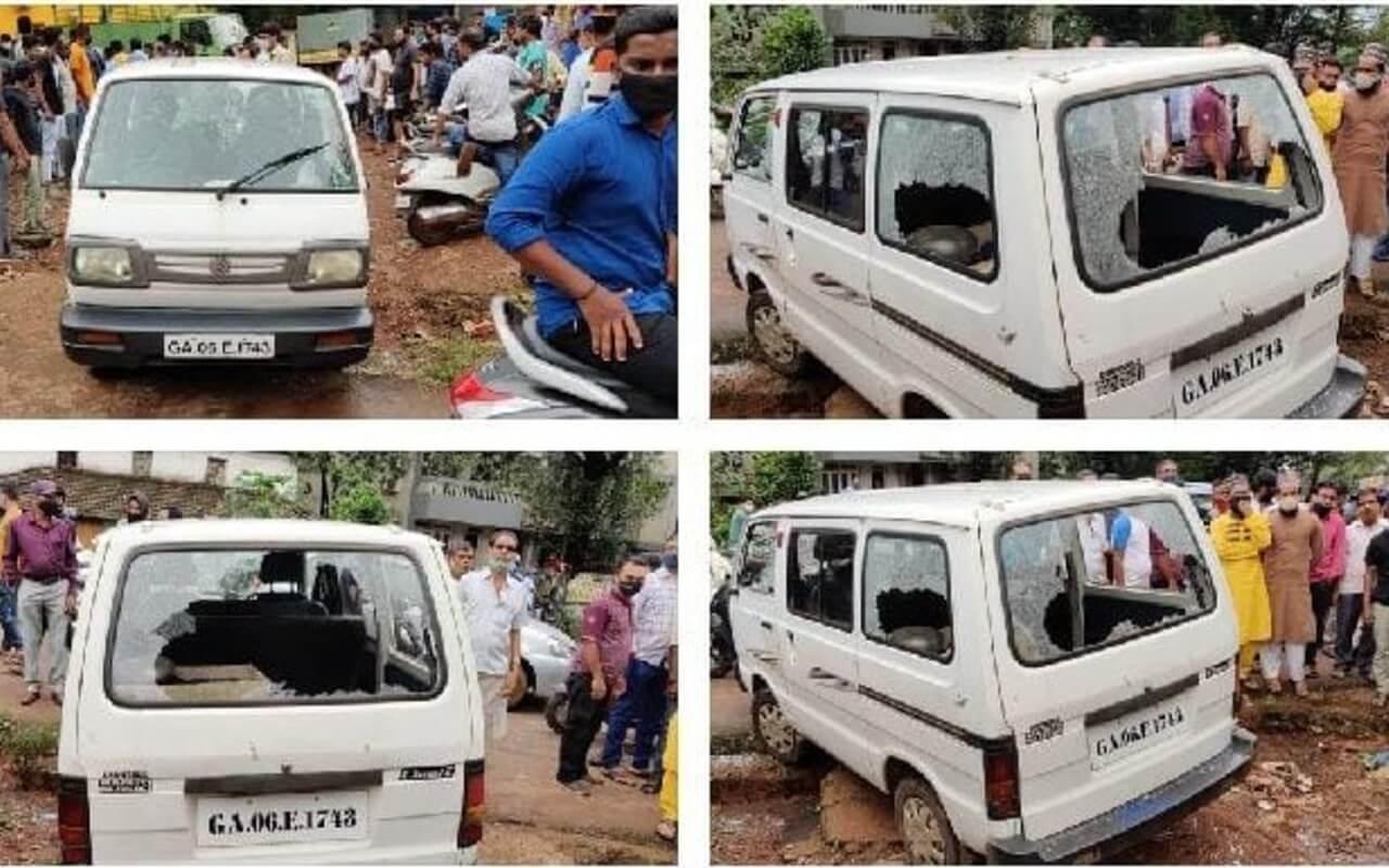 Attack in Ponda