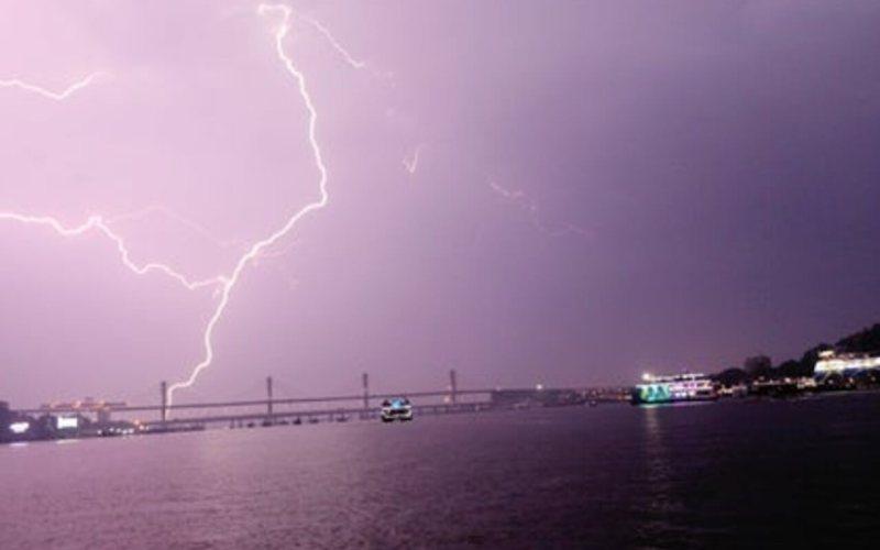 Heavy Thunder Showers