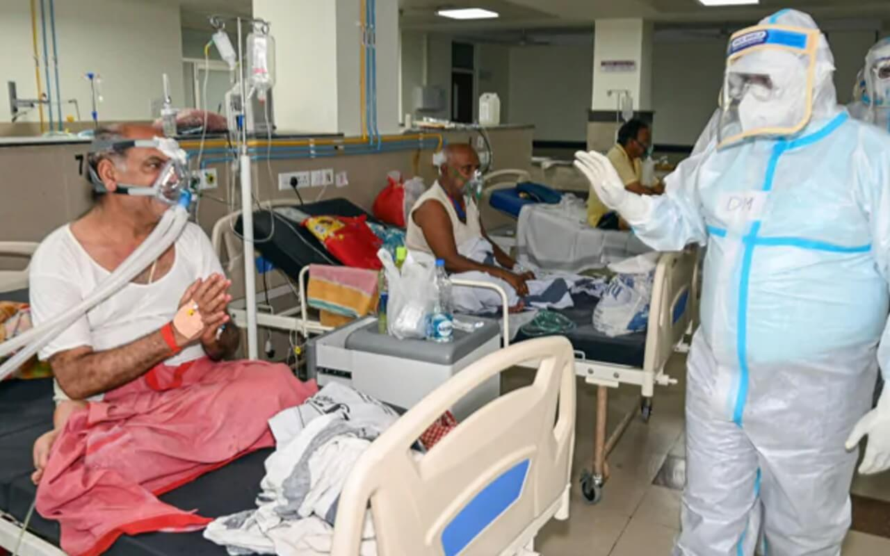 COVID Cases Spikes In North and Central India (1)