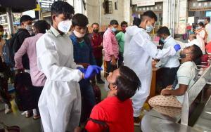 COVID Antibodies Mumbai