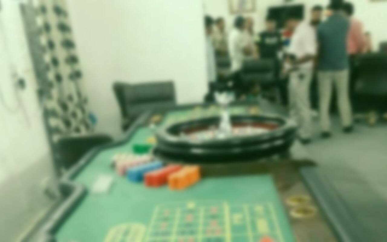 Illegal Casino Busted in South Goa