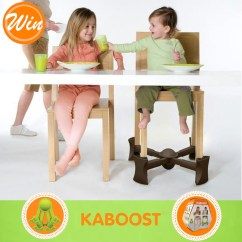 Kaboost Portable Chair Booster Plush Leather Desk Go Ask Mum Win 1 Of 2 Boosters