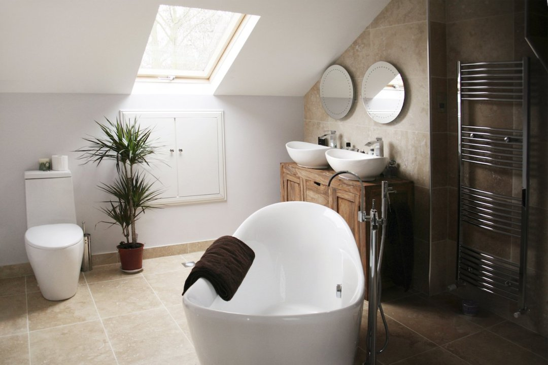 Architect designed house extension Chiswick Hounslow W4 – Bathroom design photos Roof extensions in London | Home ideas