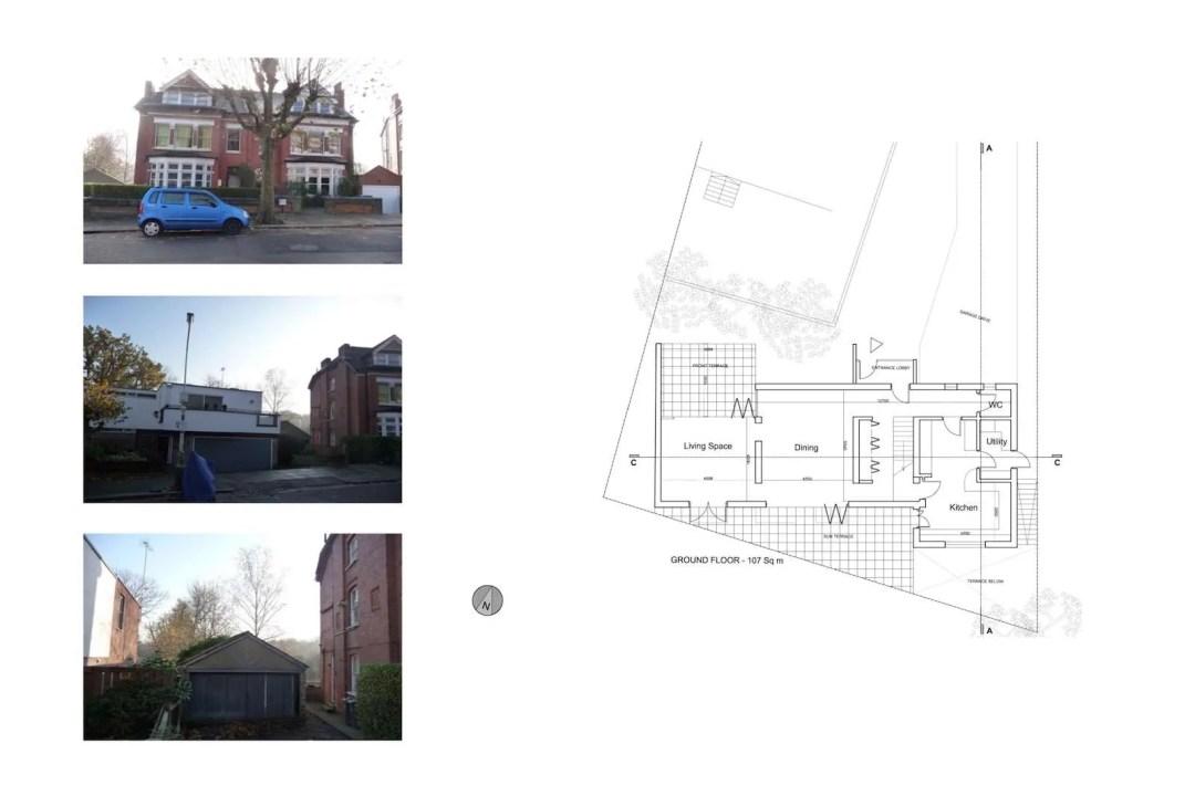 03 Highgate Haringey N6 House development Lower floor plan 1200x800 Highgate I, Haringey N6 | Residential property development
