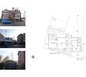 03 Highgate Haringey N6 House development Lower floor plan 300x266 Highgate I, Haringey N6 | Residential property development