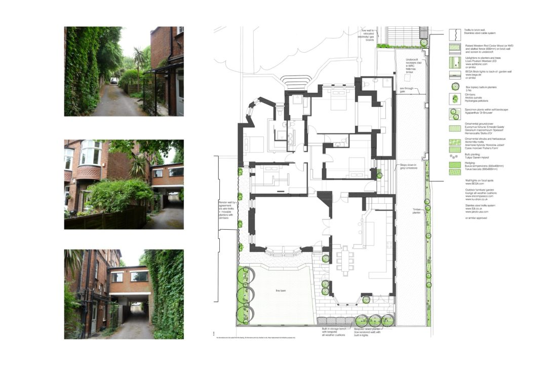 Finchley road Camden NW3 Flat extension Landscape design by Neil Tully landscape architects 1 1200x800 Finchley Road, Camden NW3 | Flat extension