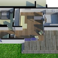 2. Architect designed residential extension Barnet EN5 3D visualisations Contemporary extensions in London | Home ideas | GOA Studio