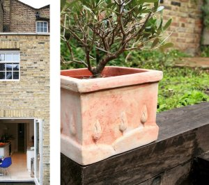 Architect designed Listed House extension Angel Islington EC1 Rear house garden details 300x266 Angel, Islington EC1 | Listed house extension