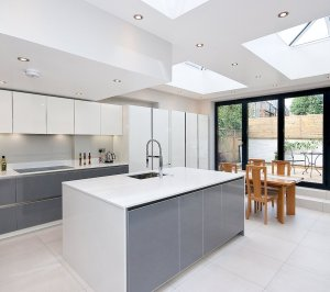 Architect designed Putney Wandsworth SW6 kitchen house extension Finishes and materials 300x266 Putney, Wandsworth SW6 | Kitchen house extension