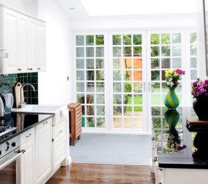 Architect designed flat extension Warwick Avenue Westminster W9 Views to the garden 300x266 Warwick Avenue, Westminster W9 | Flat extension