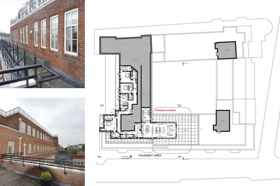 Architect designed penthouse extension Pimlico Westminster SW1P Area Plan 1200x800 Pimlico, Westminster SW1P | Penthouse extension and alterations