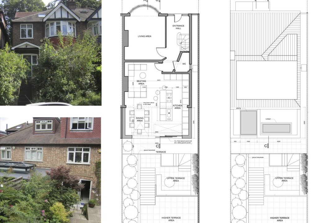 Highgate Haringey N6 Rear House Extension London Architecture