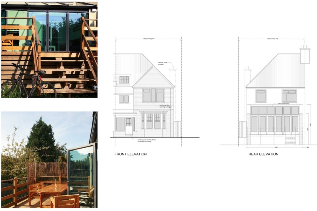 Golders Green Barnet NW11 House extension Design elevations 1200x797 Golders Green I, Barnet NW11 | House rear extension