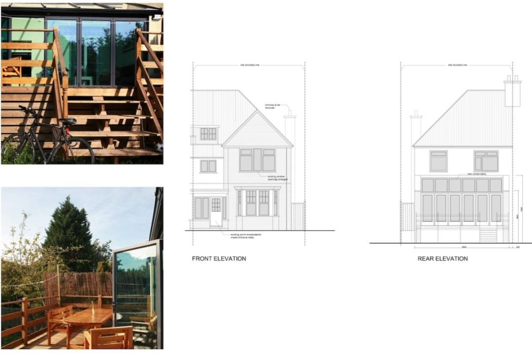 Golders Green Barnet NW11 House extension Design elevations 1200x800 Golders Green I, Barnet NW11 | House rear extension