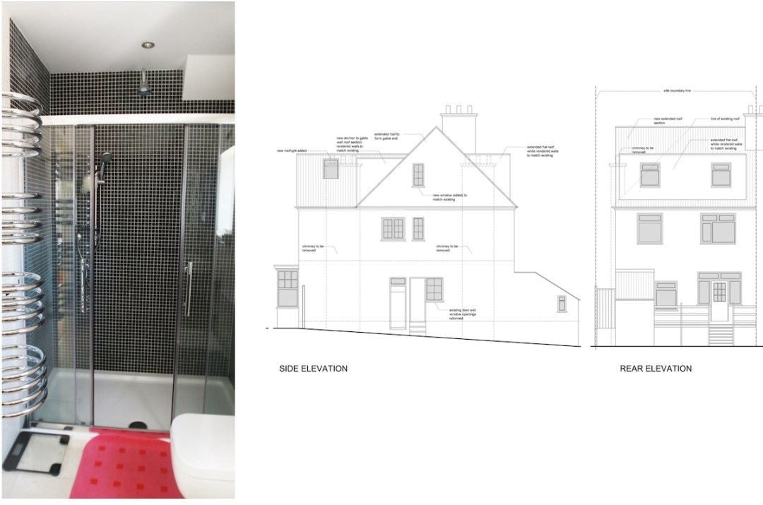 Golders Green Barnet NW11 House extension Design elevations1 1200x794 Golders Green II, Barnet NW11 | House extension