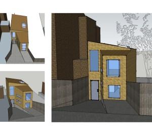 Highgate Haringey N8 Residential development feasibility study 3D images 300x266 Highgate N8 | Residential development feasibility study