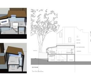 Highgate Haringey N8 Residential development feasibility study Sections 300x266 Highgate N8 | Residential development feasibility study