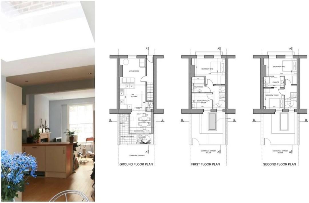 Kings Cross Camden NW1 House extension Design floor plans 1200x788 King's Cross, Camden NW1 | House extension