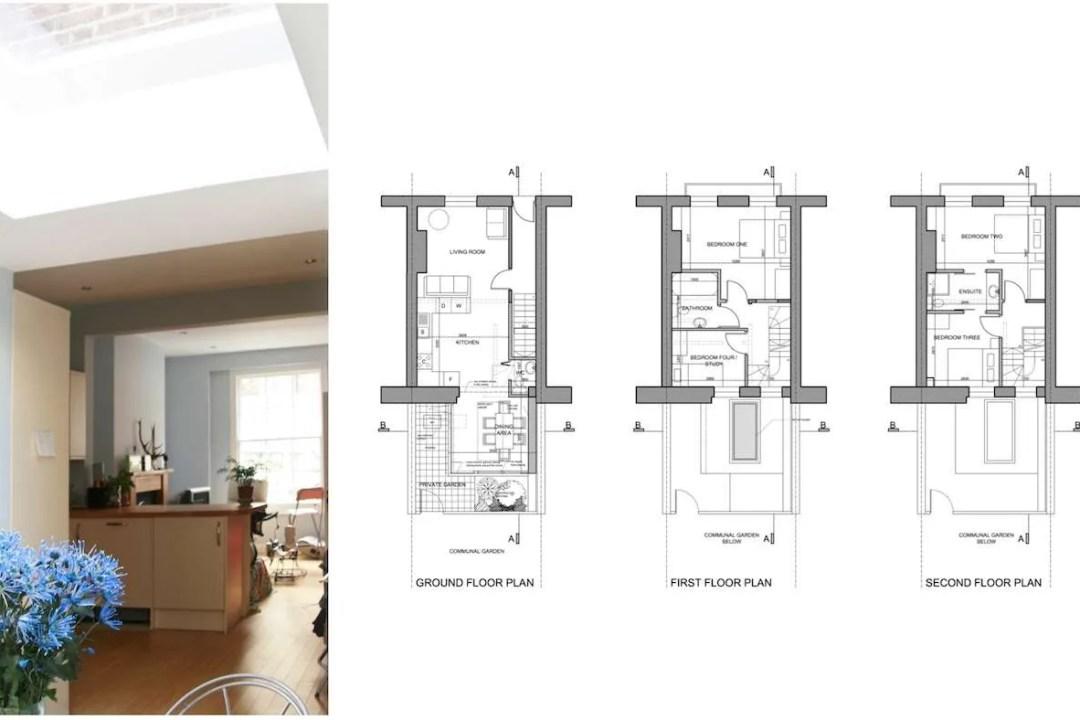 Kings Cross Camden NW1 House extension Design floor plans 1200x800 King's Cross, Camden NW1 | House extension