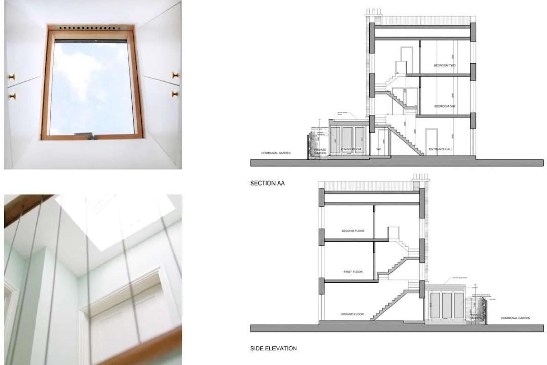 Kings Cross Camden NW1 House extension Design sections 1200x800 King's Cross, Camden NW1 | House extension