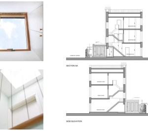 Kings Cross Camden NW1 House extension Design sections 300x266 King's Cross, Camden NW1 | House extension