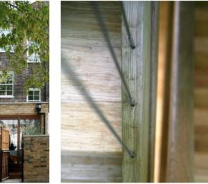 Kings Cross Camden NW1 House extension External view and detail 300x266 King's Cross, Camden NW1 | House extension