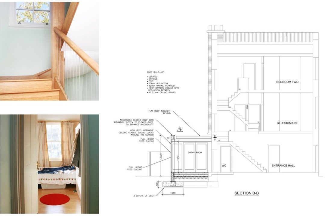 Kings Cross Camden NW1 House extension Technical section 1200x800 King's Cross, Camden NW1 | House extension