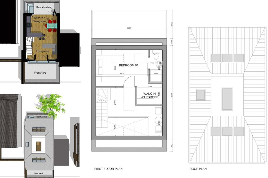 Southfields Wandsworth SW18 residential development – Architect design plan 1200x800 Southfields, Wandsworth SW18 | Residential development