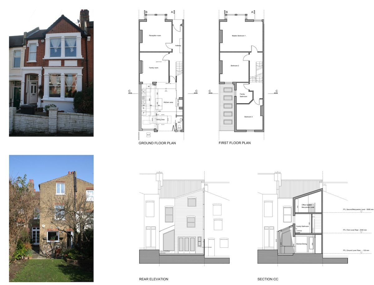 Streatham Hill Lambeth SW16 House Extension London Architecture