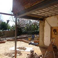 1112 Finchley Road Camden NW3 5TP Flat extension Site photo 200x200 Camden residential architect projects
