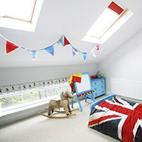 Architect designed house extension Chiswick Hounslow W4 – Kids room 200x200 Roof extensions London | Home design