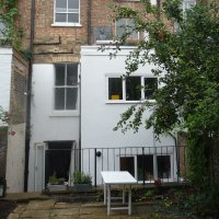 Chalk Farm Camden NW5 3QB Flat rear extension Rear elevation 200x200 Camden residential architect projects