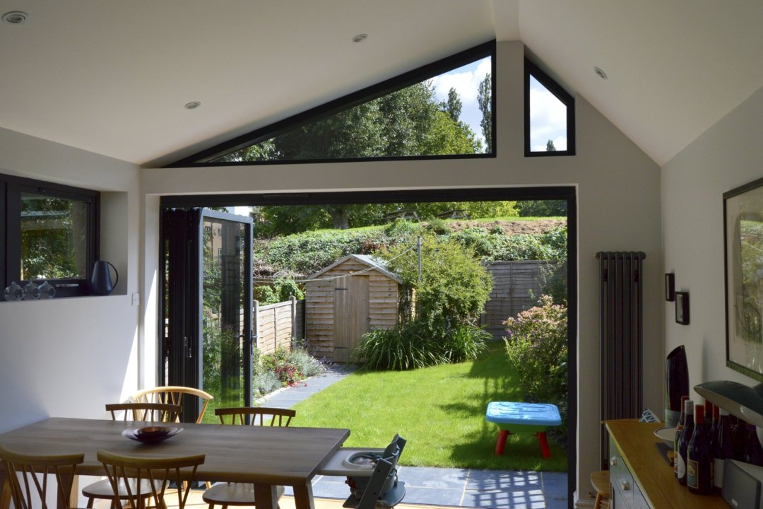 Nunhead Lewisham SE15 House kitchen extension – Inside out view 1200x800 Nunhead, Lewisham SE15 | House kitchen extension