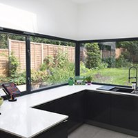 Architect designed Kilburn Brent NW2 kitchen house extension Kitchen 200x200 Flat extensions London | Home design