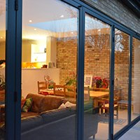 Architect designed house extension Grange Park Enfield N21 Outside view Enfield Chase EN2 | Rear house extension and refurbishment