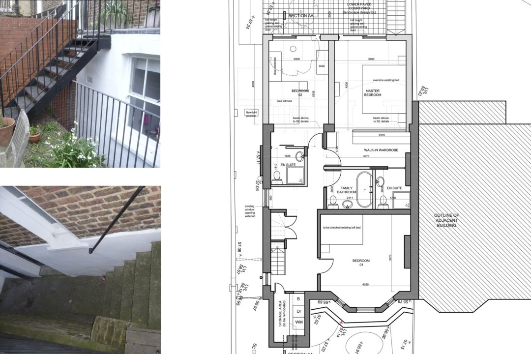 Architect designed rear house extension Tufnell Park Camden NW5 Ground floor 1200x800 Tufnell Park, Camden NW5 | Rear house extension