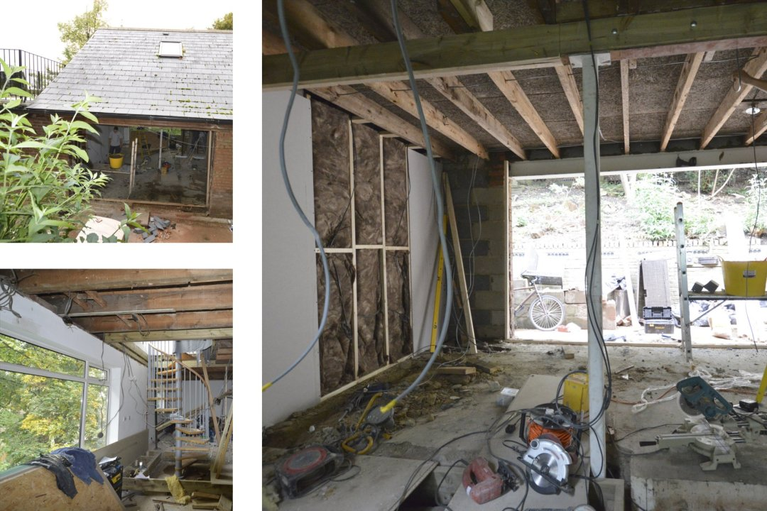 Architect designed roof extension Shortlands Bromley BR1 Site photos 1200x800 Shortlands, Bromley BR1 | Roof extension