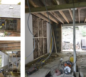 Architect designed roof extension Shortlands Bromley BR1 Site photos 300x266 Shortlands, Bromley BR1 | Roof extension