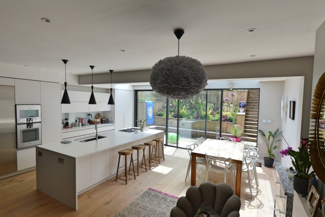 Architect designed rear house extension Highgate Haringey N6 – View from the seating area 1200x800 Highgate, Haringey N6 | Rear house extension