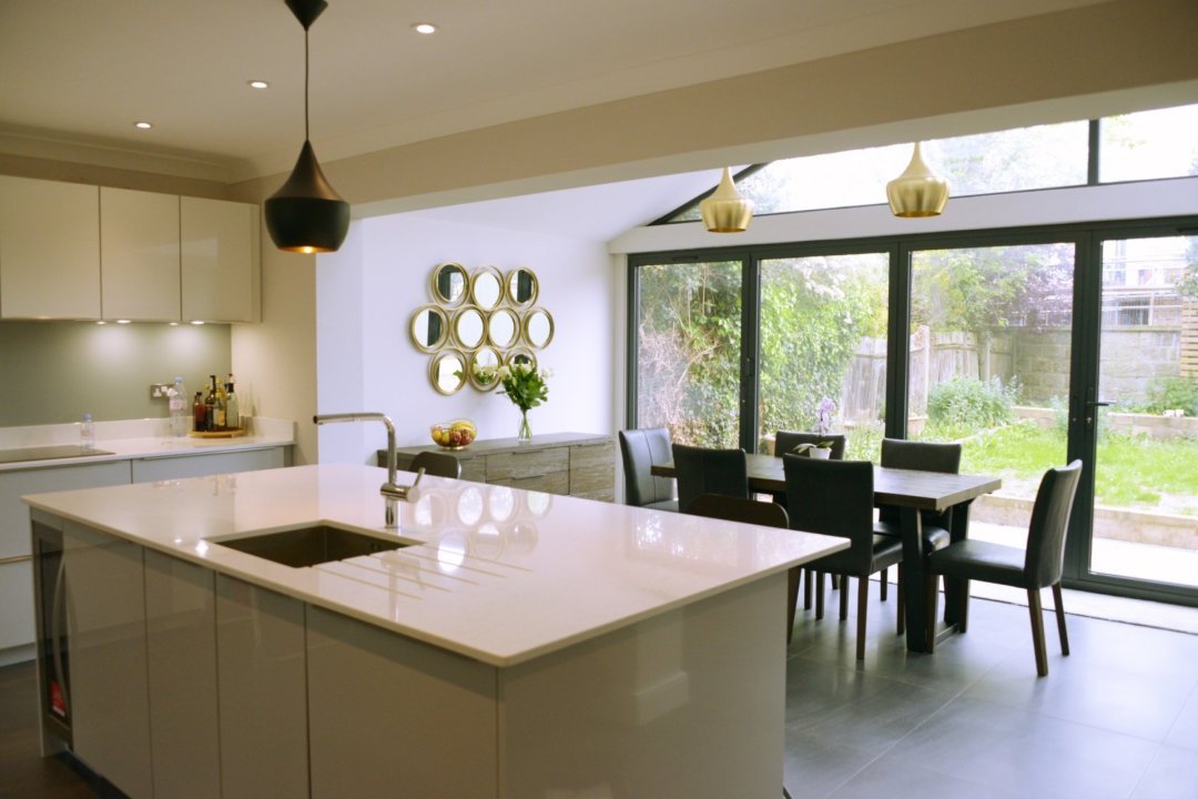 Architect designed roof and kitchen house extension Kingston KT2 Kitchen area 1200x800 Kingston KT2 | Roof and kitchen house extension